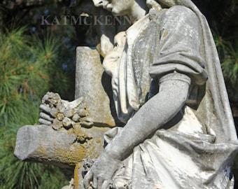 Angel at McDonough, GA Cemetery