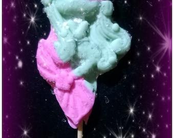 Fantasy Collection of 12 Mermaid Girl Edible Fondant Cupcake Topper