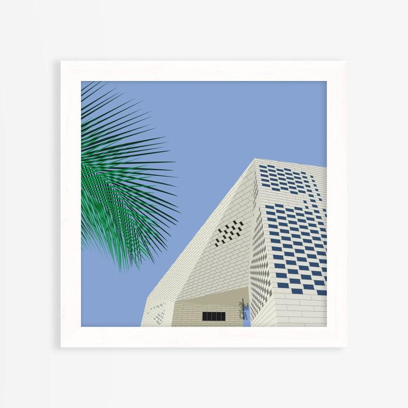 Squared illustration Art print Fresh and Vivid illustration image 0