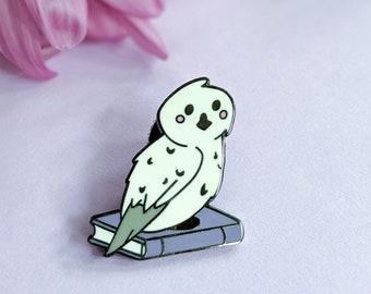 ENAMEL PIN, Owl Be Reading