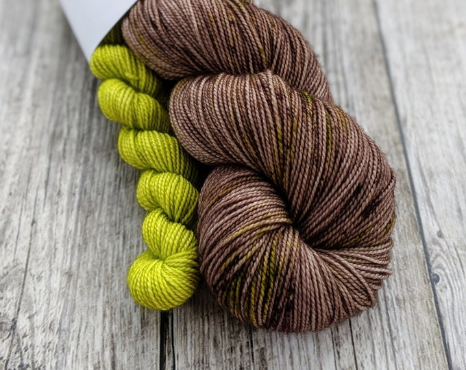 Featured listing image: Woodland Moss Sock Set