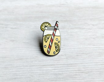 ENAMEL PIN, Old Fashioned Lemonade