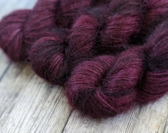 MUST HAVE MOHAIR, Chocolate Raspberry
