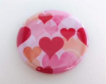 Heart Pocket Mirror