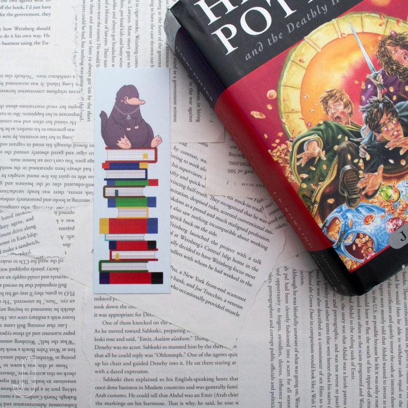 Harry Potter Niffler Bookmark Etsy