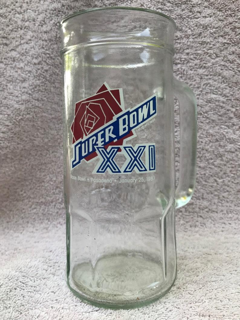 Super Bowl XXI Stein 1987
