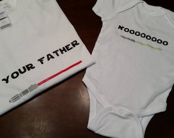 I Am Your Father T-Shirt SET (Many Sizes , Styles, and Colors)