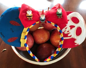 EXCLUSIVE - Snow White  Inspired Mouse Ears That GLOW in the DARK