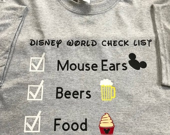 EPCOT Food and Wine Festival 2018 T-Shirt (Many Sizes , Styles, and Colors)
