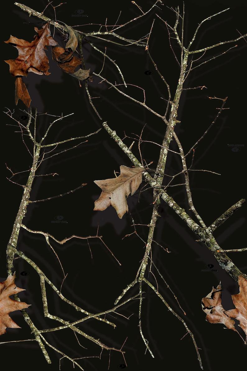 55bad29177e3e Mossy Oak Lifestyle Black Camo Vinyl Roll Outdoor Adhesive | Etsy