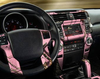 Auto Interior Skin - Camo Dash Kit in Mossy Oak Break-up Pink by Mossy Oak Graphics