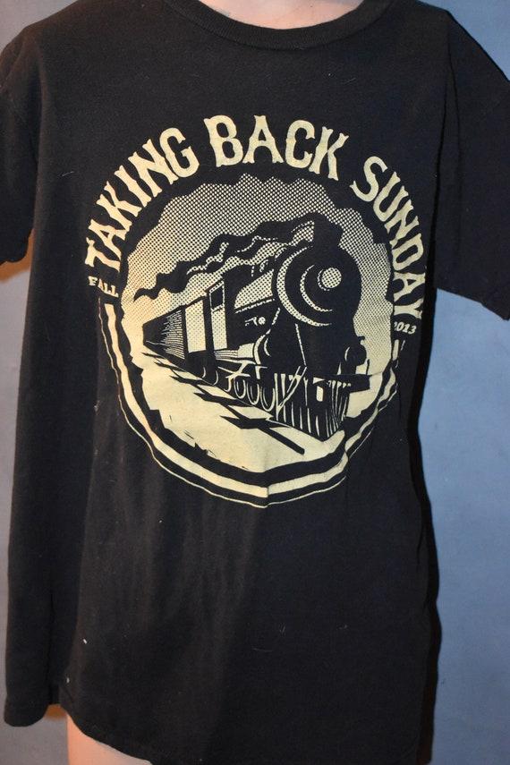 Taking Back Sunday Fall 2013 Concert T-shirt