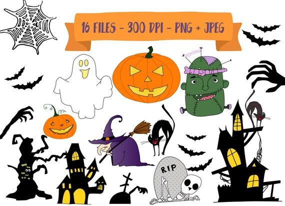 Imágenes Prediseñadas de Halloween venta calabaza Imágenes | Etsy