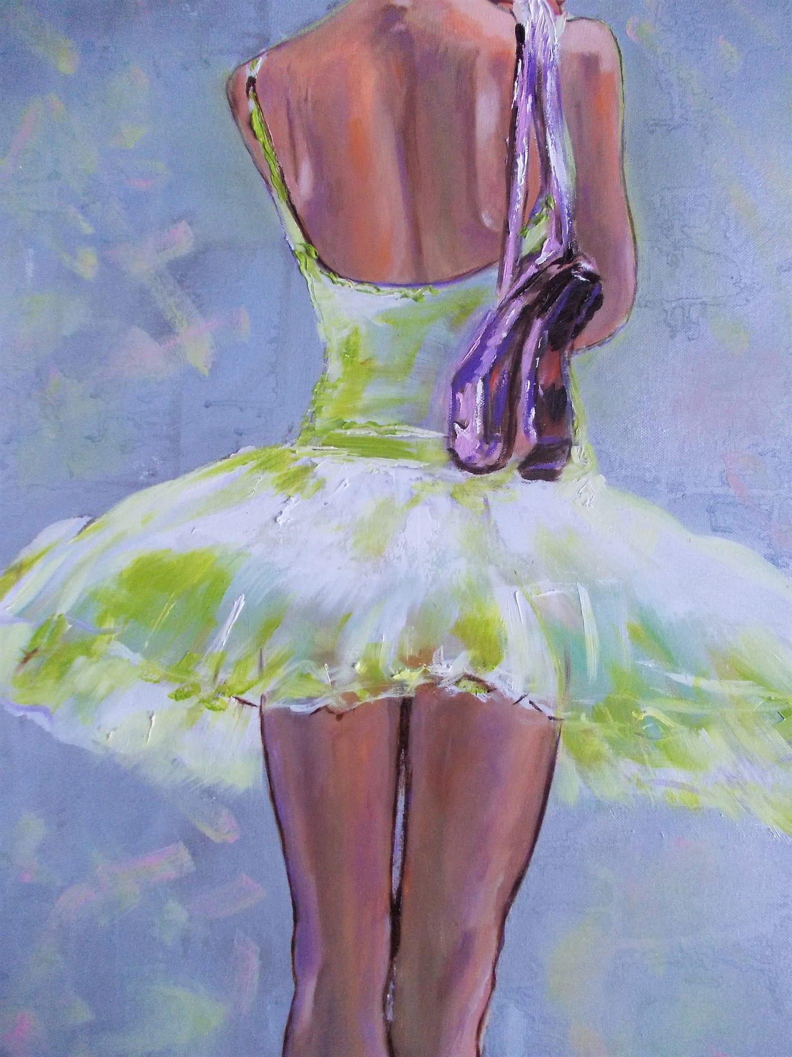 original ballerina painting.ballerina oil painting,ballerina art,ballet dancer,ballerina wall art,ballet painting,ballerinas,poi
