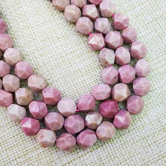 Natural Rhodonite Gemstone Round Beads 15.5/'/' 2mm 3mm 4mm 6mm 8mm 10mm 12mm DIY
