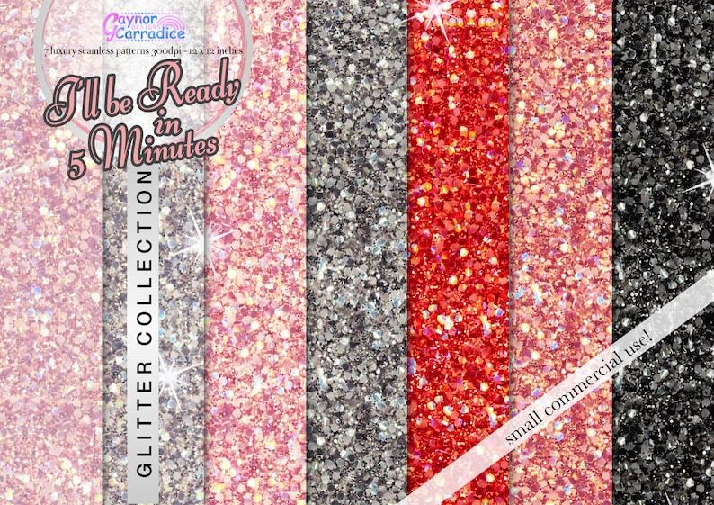Documenti Digitali Glitter Oro Rosa Blush Paillettes Reticoli Etsy