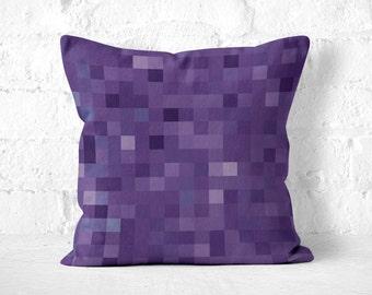 Astonishing Purple Throw Pillow Etsy Download Free Architecture Designs Saprecsunscenecom