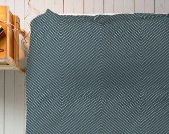 Chevron Duvet, Striped Duvet, Grey Blue Duvet, Grey Blue Bedding, Minimal Pattern Duvet, Chevron Bed, Queen Duvet, King Duvet, Twin Duvet