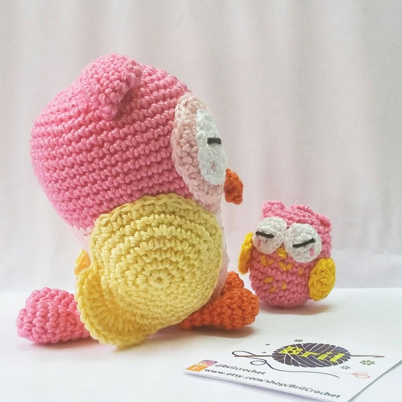 DIY Amigurumi Kawaii Owl - HOW TO CROCHET OWL KEYCHAIN - Cute Owl ... | 794x794
