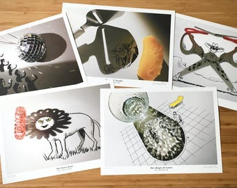 Signed PRINTS 5 PACK - 5 Shades Of Grey