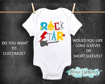 2d88e6188 Rock star onesie