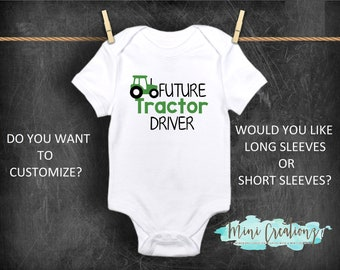 8a388384a Future Tractor Driver Onesies®, Cute Baby Onesies, Tractor Onesie, Baby  Reveal Onesie, Farmer Onesie, Farm Help, Farmer Onesie, Unisex