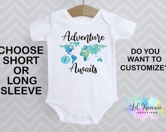 Infant Onesie  Baby Onesie  Happy Camper Baby  Cute Newborn Outfit  Newborn Baby Onesie  Gerber Baby Onesie  Adventure Baby Bodysuit
