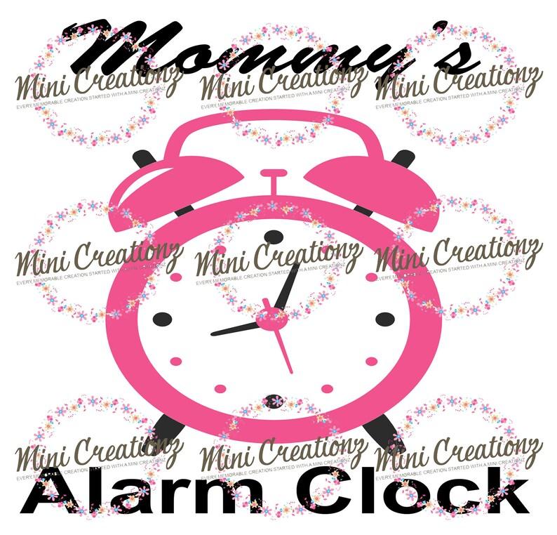 Unisex Onesie Mommy/'s Alarm Clock Funny Baby Onesies\u00ae Alarm Clock Onesies\u00ae Custom Baby Shower Gift Cute Baby Onesies\u00ae Custom Onesies