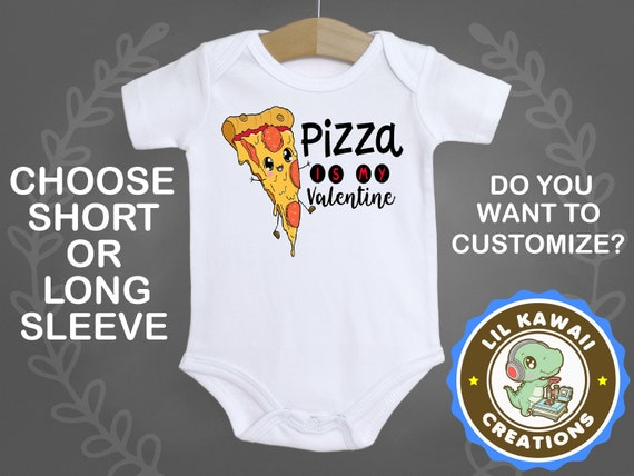 Baby Onesies I Love You Pizza 100/% Cotton Newborn Baby Clothes Cute Short Sleeve Bodysuit