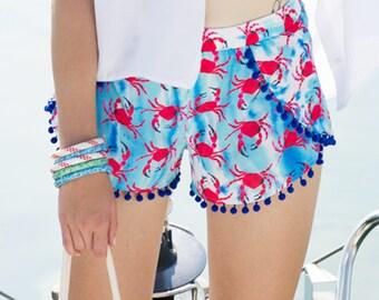 BiggDesignAnemoSS Crab Women's Shorts