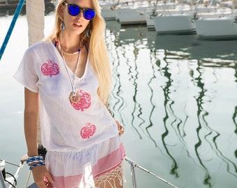 BiggDesignPomegranate Beach Dress