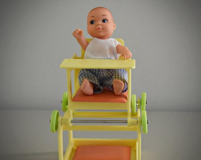 Vintage Fleur Pretty Baby - Baby chair / BT Toys / Amsterdam - Holland / Art. No : 385-2319