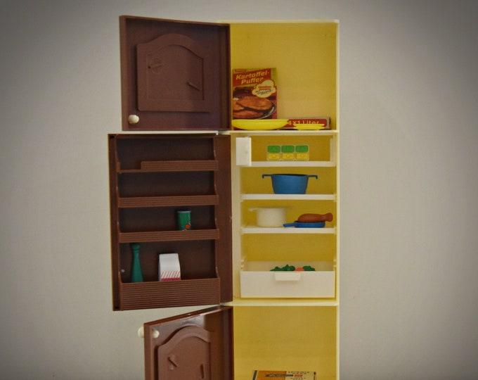 Vintage Fleur Otto Simon (Dutch Sindy) refrigerator - fridge / + accessories / Art. No : 385-2371 / Almelo - Holland