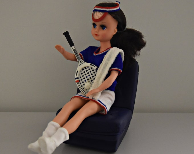 Vintage outfit Fleur Tennis (Dutch Sindy) # 1228/Otto Simon/Fleur fashion + Accessories