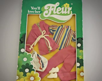 Vintage outfit Fleur (dutch Sindy) No. 1271 / NRFB / Fleur fashion / Collectors item / Otto Simon - Almelo - Holland