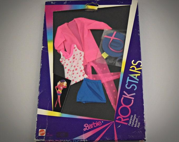 Vintage Barbie Outfit Rock Stars Fashions / Barbie fashion / #1167 / Mattel / NRFB / 1985