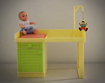 Vintage Fleur Pretty Baby - Chest of Drawers / Care Table Baby / BT Toys / Amsterdam - Holland