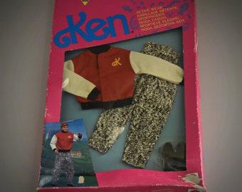 Vintage outfit Ken Active Wear / #7148 / Mattel / NRFB / 1992