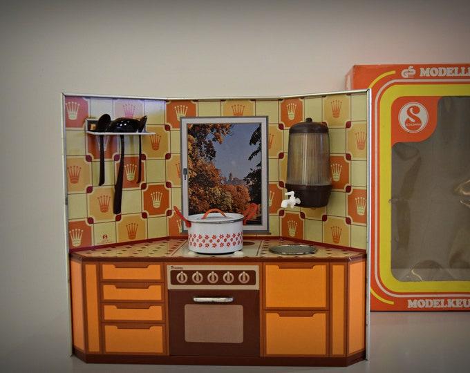 Vintage model Kitchen in Bauknecht style/Made in West-Germany/Schopper
