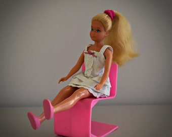 Vintage skipper Mattel INC. 1967-Blond-sister of Barbie-summery outfit