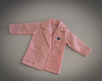 Vintage jacket Sindy Pedigree / belongs to the set Red Swimsuit / #44003 / 1983 / Sindy Casuals