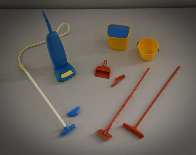 Vintage Sindy Pedigree Housework Set 1977/# 44422/9 pieces//Collectors Item