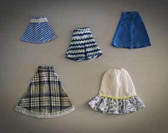 Vintage skirts Sindy Pedigree / different years / to choose / see description