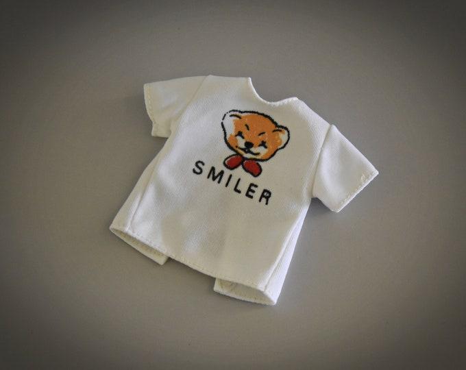 Nice vintage T-shirt for Sindy Pedigree / Mix 'n' Match Fashions - Smiler / 44160 / 1977