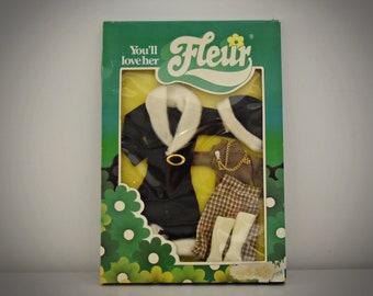 Winter vintage outfit Fleur (Dutch Sindy) / # 385-1247 / NRFB / Fleur fashion / Collectors item / Otto Simon - Almelo - Holland