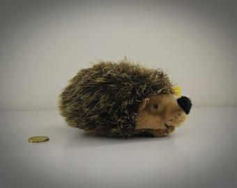 Vintage original Steiff Hedgehog Joggi / 070501 / cute hedgehog / Mohair / button in earpiece + label