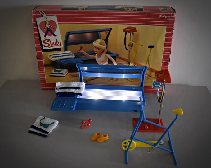 Vintage Sindy Pedigree Keeping Fit Set /#44441 /Original Box/1984/Complete Set