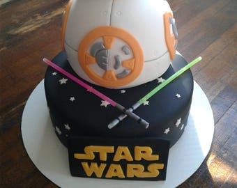 Strange Lightsaber Cake Etsy Funny Birthday Cards Online Sheoxdamsfinfo