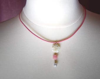 Rose Choker Necklace