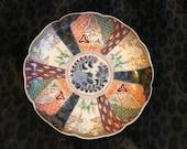 GENUINE ANTIQUE IMARI Plate Circa 1850 Unsigned Perfect Condition No Cracks Or Chips Japanese Imari